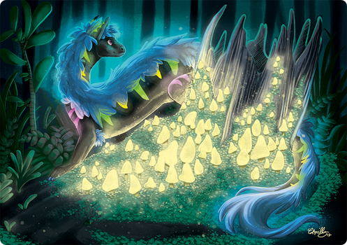 Commission - Flux in the Woods by athelo