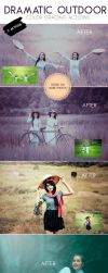 Dramatic Outdoor Color Grading Actions by Lyova12
