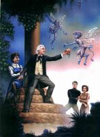 The First Doctor and friends by DarkAngelDTB