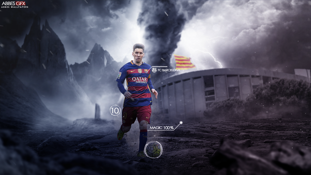 Lionel Messi Wallpaper 2015 16 By Abbes17 On DeviantArt