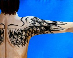 Wing Tattoo by khaos-is-insane