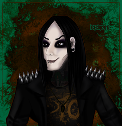 Chris Motionless- Bandimated series by 1ceCub
