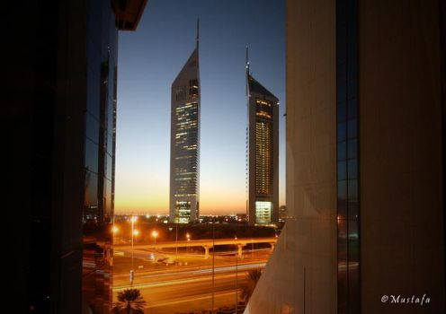 Emirates Tower by mystic552