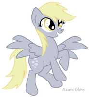 Derpy Hooves by mlpAzureGlow