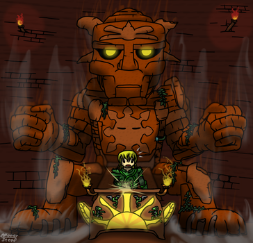 Terraria: The Golem has Awoken by ppowersteef
