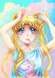 Usagi Morning Routine by clefchan