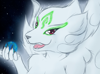 Kami and Araltys by StampyDragon