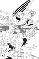 High Res - Uncanny XMen First Class 5 cover by rogercruz