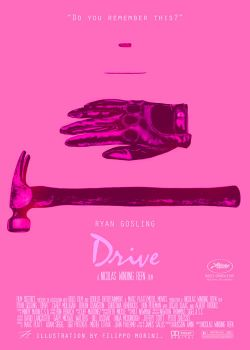Drive, alternative poster by FilippoMorini