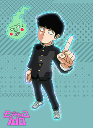 MOB PSYCHO 100 - Kageyama Shigeo and Dimple by FrancoTieppo