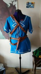 WIP - Breath of the Wild Link cosplay - Belts by Grenier-Illiane