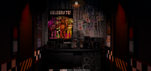 FNAF 1 - Office (4K) by GamesProduction
