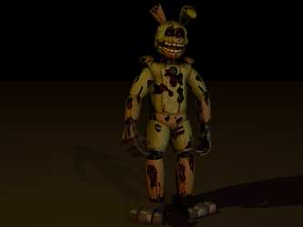 My Name Is Springtrap by bluthesnowleopord