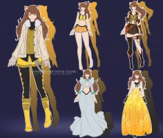 OC Outfit Commission: AURUM by AnonymousBlank