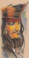 Marker : Jack Sparrow by KidNotorious