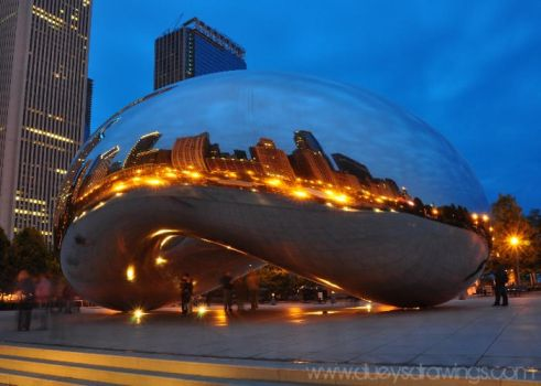 Chicago Bean by golfiscool