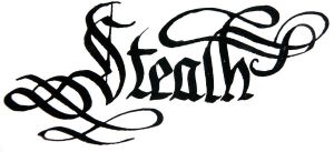 'Stealth' word by hipe-0