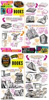 How to draw BOOKS - KICKSTARTER has 17 DAYS LEFT! by STUDIOBLINKTWICE