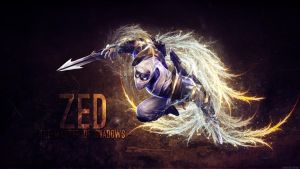 League of Legends - Zed Wallpaper by Soinnes