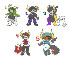Fantroll Auctions - CLOSED! by zippyskipy