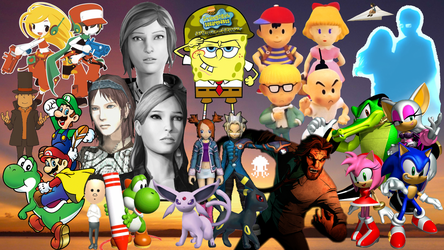Six Years of Let's Plays Wallpaper by MidniteAndBeyond