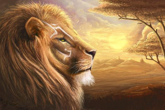 The Lion by peach