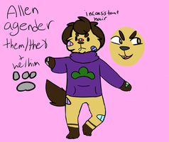 NEW ALLen ref by swagdoggos