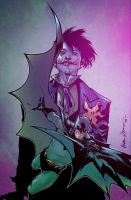 Batman Joker COLOR by DougGarbark