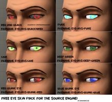 Eye skin pack 4 by Nikolad92
