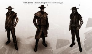Steel Jawed Duncan Stage 1 by SharpWriter