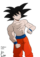 Quick Goku by fighterxaos