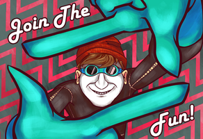 Join The Fun! - We Happy Few Contest Entry by Vertwig