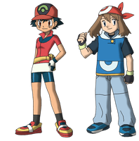 Rebirth: Ash May head swap color by Insert-artistic-nick