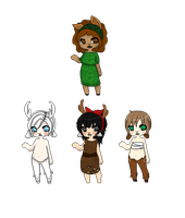 Pixel Faun Adopts -Closed- by QueenAdoptables