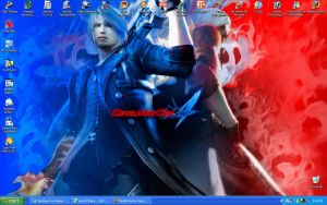 Devil May Cry 4 Desktop by SincerelyStephanie