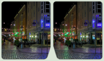 Downtown Dresden 3-D / CrossEye / Stereoscopy HDR by zour