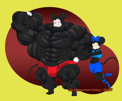Ripped Mickey by OutlawMonkey