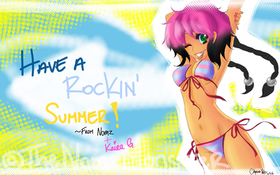 Have A Rockin Summer!! by juke-boxx