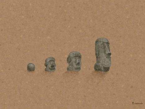 The Solved Mystery of Moai Sta by vladstudio