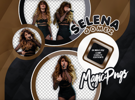 PACK PNG 722| SELENA GOMEZ by MAGIC-PNGS
