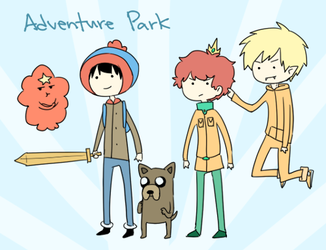 adventure park by azngirlLH