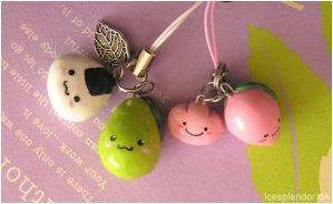Happy Foods Charms by Icesplendor