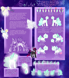 {Original Species} - Solutai Ponies -Outdated- by S-Adopts