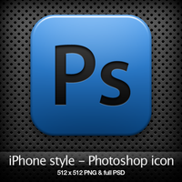 iPhone style - Ps CS4 icon by YaroManzarek