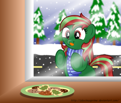 Commission: Sony wants cookies by AleximusPrime