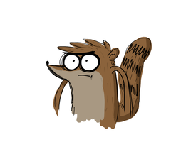 Rigby Doodle by Zefidu