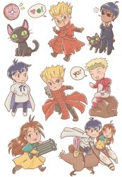 Trigun Stickers by orinocou