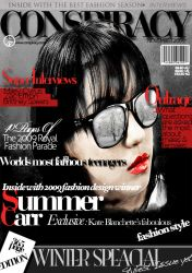 Magazine Cover by artraya