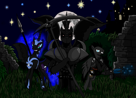 Trio of Darkness (REMAKE) by Witkacy1994
