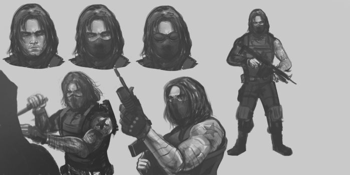 winter soldier by MACCOLA